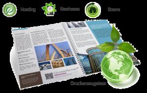 Klimaneutrale Druckerzeugnisse