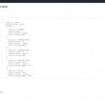 JSON Editor Textarea